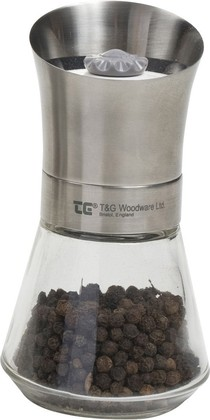 Мельница с перцем T&G Tip Top стальная крышка 11094