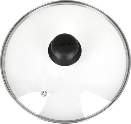Крышка 16см низкая с пароотводом Regent Inox 93-LID-01-16