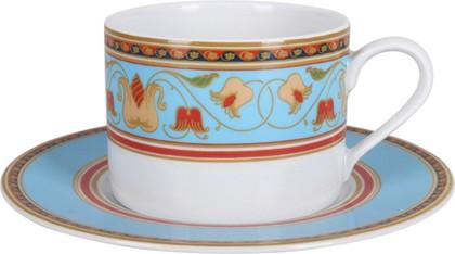 Чашка с блюдцем Бирюза, ф. Полюс ИФЗ 81.24809.00.1