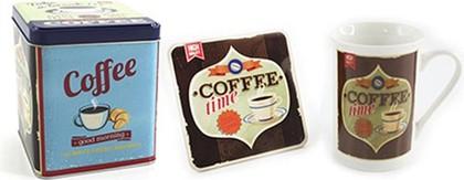 Кружка с подставкой Ретро кофе, 275мл Leonardo Collection LP91710
