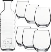 Набор для напитков 7 предметов Palace Luigi Bormioli 11165/01