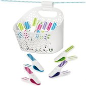Прищепки для белья Tescoma Clean Kit в корзинке, 20шт 900724.00