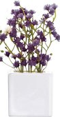 Декоративный цветок Гипсофила в горшочке мини, Asa Selection Deko, синий 11727/000