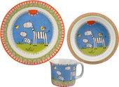 Набор детской посуды Top Art Studio Счастливая семейка, 3пр. SC1064-TA