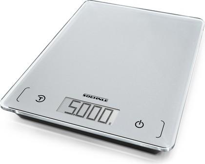 Весы кухонные электронные Soehnle Page Compact 100, 5кг/1гр, серый 61502