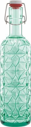 Бутылка с герметичной крышкой 1л, зеленая Prezioso Luigi Bormioli 11596/01
