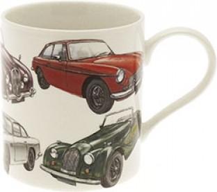 Кружка Lesser & Pavey Виндзор Классические машины, 400мл LP99883