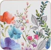 Подставки под чашку Creative Tops Meadow Floral 10.5x10.5, 6шт, пробка C000338
