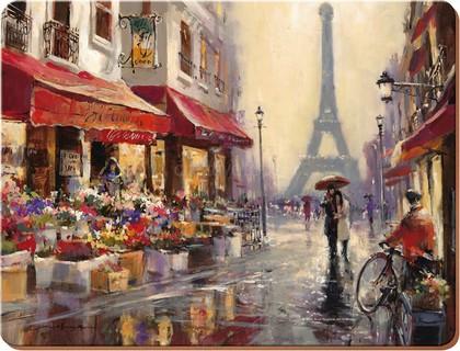 Подставки на пробке Французские каникулы 30х23см, 6шт Creative Tops 5176712