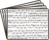 Подставки на пробке Lesser & Pavey Музыкальные, 4шт, 30x23см LP93671