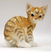 Статуэтка Кошка, 2 вида, 13.5см, фарфор ИФЗ 82.01003.00.1