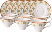 Чайный сервиз Top Art Studio Фиджи, 12 предметов LD1938-TA