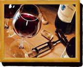 Поднос с подушкой Вино Creative Tops LT1806