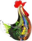 Фигурка стеклянная Top Art Studio Зелёная курочка, 15x16см ZB2864-AG