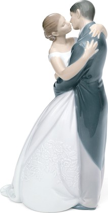 Статуэтка фарфоровая Поцелуй Навсегда (A Kiss Forever) 23см NAO 2001613
