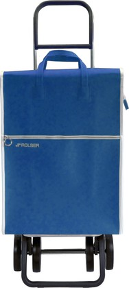 Сумка-тележка хозяйственная синяя Rolser DOS+2 LID002azul