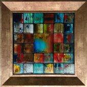 Картина стеклянная Top Art Studio Мозаика 30x30см LG1235-TA