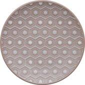 Тарелка Denby Импрессия Hexagon 17см, розовый 439010203