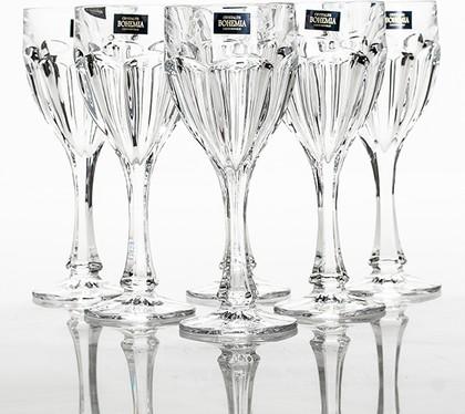 Бокалы для вина Crystalite Bohemia Сафари, 6шт., 290мл 1KC86/0/99R83/290