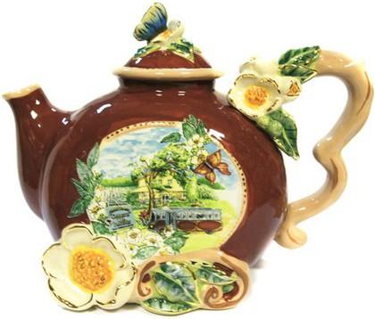 Чайник заварочный Чарльстон 25х18см Blue Sky 1693