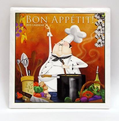 Подставки под горячее Art Atelier Бон аппети, 16x16см, керамика ART1115-TA