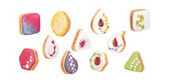 Формочки для песочного печенья, 6шт Tescoma Delicia 630933.00