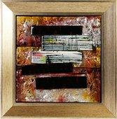 Картина стеклянная Авангард 30x30см Top Art Studio LG1236-TA