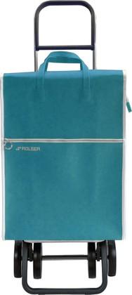 Сумка-тележка хозяйственная зелёная Rolser DOS+2 LID002verde