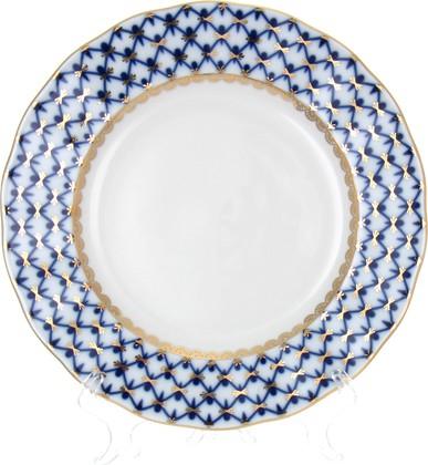 Тарелка десертная ИФЗ Тюльпан Кобальтовая сетка, 18см 80.00230.00.1