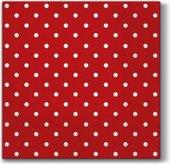 Салфетки для декупажа Paw Горох красный, 33x33см, 20шт SDL066023