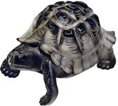 Скульптура ИФЗ Черепаха Тёмный панцирь, фарфор 82.64833.00.1