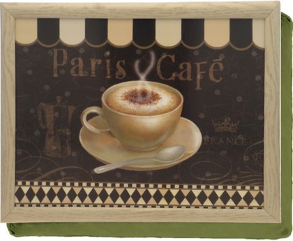 "Поднос с подушкой ""Парижское кафе"" Creative Tops 5123091"