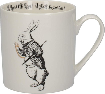Кружка Creative Tops V&A Alice In Wonderland Белый кролик, 350мл C000051