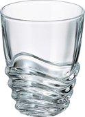 Стаканы для воды Crystalite Bohemia Волна 6шт, 280мл 2KE51/0/99U29/280