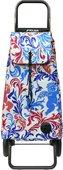 Сумка-тележка хозяйственная цветная Rolser RG MOUNTAIN MOU115azul/malva