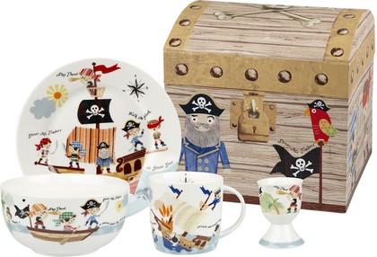 Набор для завтрака Пираты семи морей 4пр Queens PIRA00011