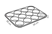 Форма для 12 мини-кексов Tescoma Delicia 623222.00