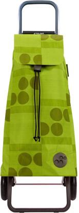 Сумка-тележка хозяйственная зелёный лайм Rolser RG MOU039lima