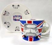 Чайная пара для завтрака Автомобиль-легенда 500мл Roy Kirkham COICO1110