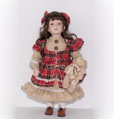 Кукла фарфоровая Top Art Studio Одри 51см WS2255-TA