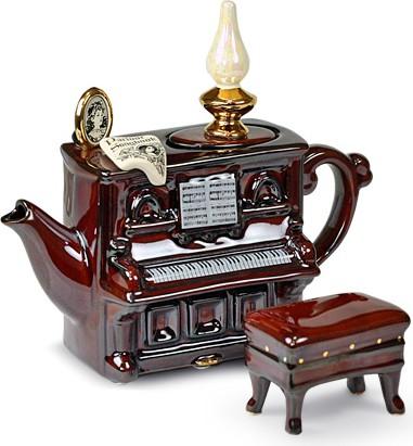 "Чайник коллекционный ""Фортепиано"" (Piano Teapot) The Teapottery 4446"