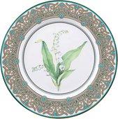 Тарелка декоративная ИФЗ Европейская-2, Ландыш майский, 270мм 80.99047.00.1