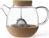 Чайник заварочный Viva Scandinavia Cortica, с ситечком, 0.8л, стекло V71300
