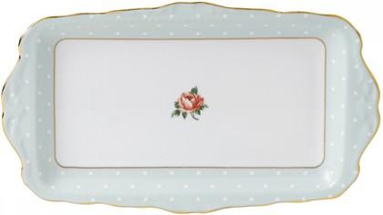 Поднос для сэндвичей Полька Роуз, 29.5 x 17.5см Royal Albert POLROS26137