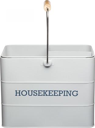 Набор для уборки KitchenCraft Living Nostalgia grey LNHKEEPGRY