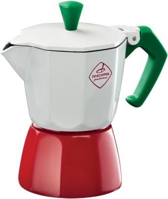 Кофеварка гейзерная Tescoma Paloma Tricolore, 1 чашка 647031.00