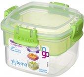 Контейнер для продуктов Sistema To Go, 400мл, двухуровневый 21320