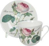 Чайная пара Roy Kirkham Chatsworth Роза Редаут, 450мл XROSA1100