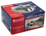Кастрюля Regent Luna Vitro, 2.4л, 18x9.5см, стеклянная крышка 93-Lv03