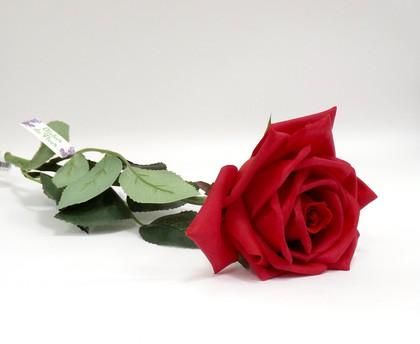 Роза Гран При красная 65см живое прикосновение Atelier de Fleur WAF1151-TA
